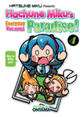 Cover image for Hachune Miku's Everyday vocaloid paradise! 4