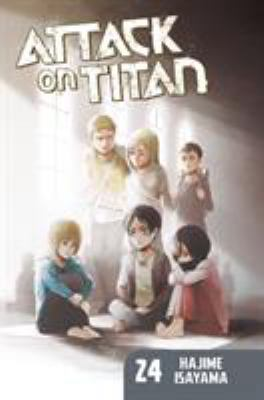 Cover image for Attack on Titan. 24