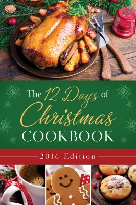 Cover image for The 12 days of Christmas cookbook