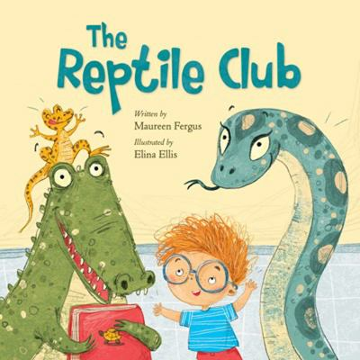 Cover image for The reptile club