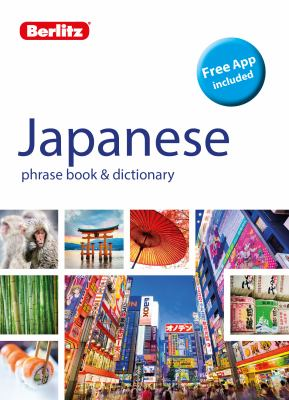 Cover image for Berltiz Japanese phrase book & dictionary.