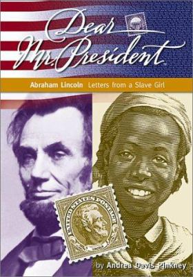 Cover image for Abraham Lincoln : letters from a slave girl