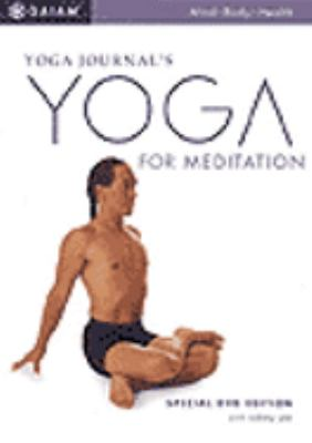 Cover image for Meditation and yoga