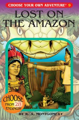 Cover image for Lost on the Amazon