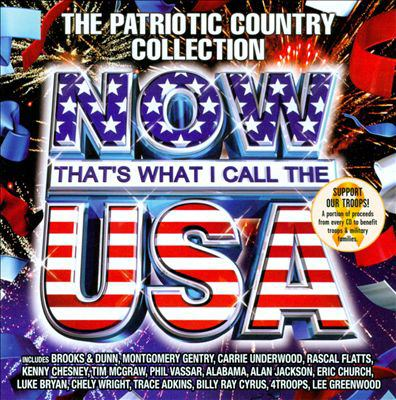 Cover image for Now that's what I call the U.S.A. the patriotic country collection.