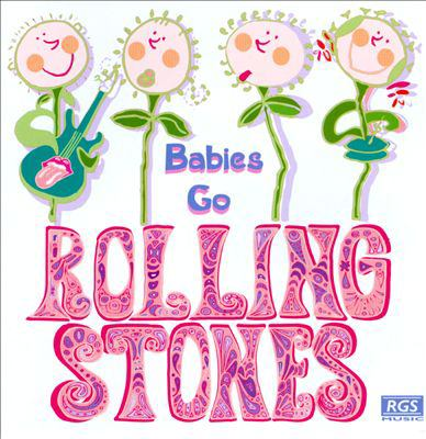 Cover image for Babies go Rolling Stones