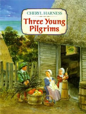 Cover image for Three young pilgrims