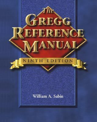 Cover image for The Gregg reference manual