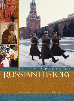 Cover image for Encyclopedia of Russian history