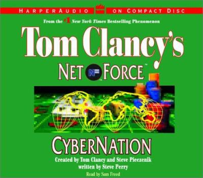 Cover image for Tom Clancy's Net Force. Cybernation