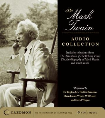 Cover image for The Mark Twain audio collection