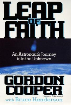 Cover image for Leap of faith : an astronaut's journey into the unknown