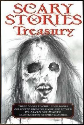 Cover image for Scary stories treasury : three books to chill your bones