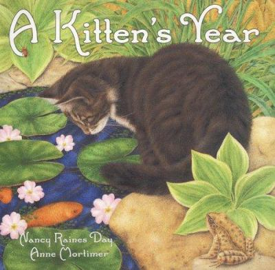 Cover image for A kitten's year