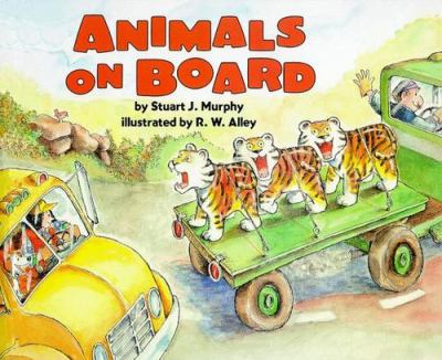 Cover image for Animals on board