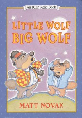 Cover image for Little Wolf, Big Wolf