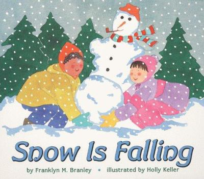 Cover image for Snow is falling