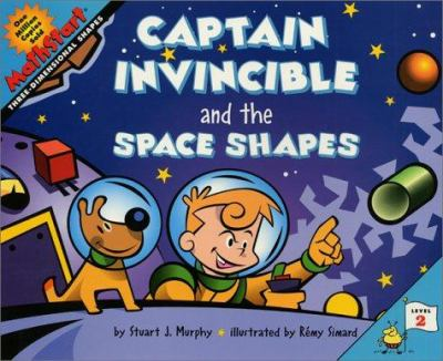 Cover image for Captain Invincible and the space shapes