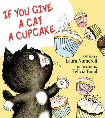 Cover image for If you give a cat a cupcake