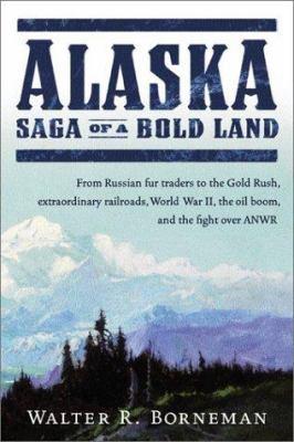 Cover image for Alaska : Saga of a bold land