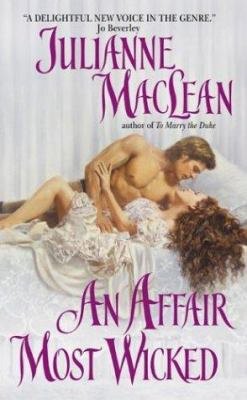 Cover image for An affair most wicked