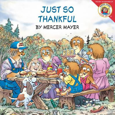 Cover image for Just so thankful