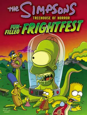 Cover image for The Simpsons treehouse of horror : fun-filled frightfest.