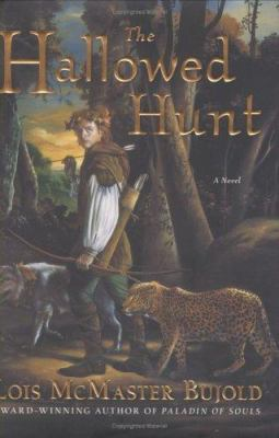 Cover image for The hallowed hunt : a novel