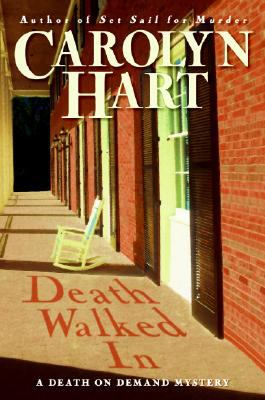 Cover image for Death walked in : a death on demand mystery