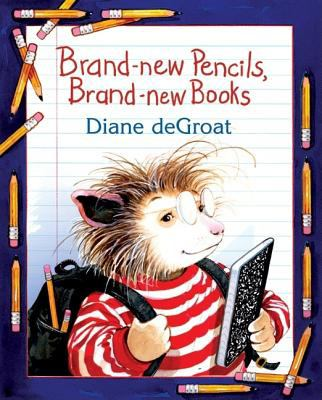 Cover image for Brand-new pencils, brand-new books