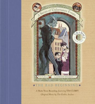 Cover image for The bad beginning