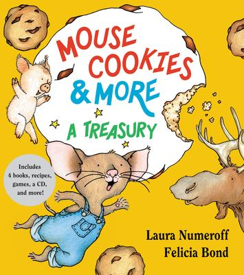 Cover image for Mouse cookies & more : a treasury