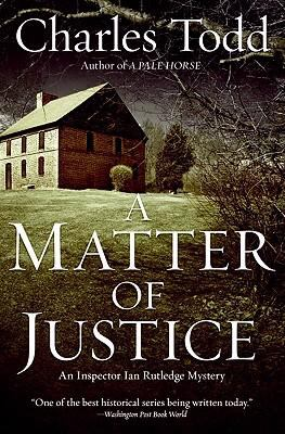 Cover image for A matter of justice