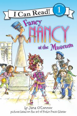 Cover image for Fancy Nancy at the museum