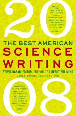Cover image for The best American science writing, 2008