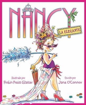 Cover image for Nancy la elegante