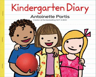 Cover image for Kindergarten diary