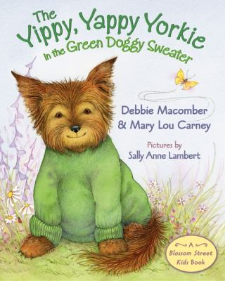 Cover image for The yippy, yappy Yorkie in a green doggy sweater