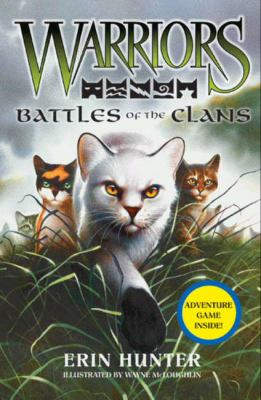 Cover image for Warriors. Battles of the clans
