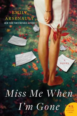 Cover image for Miss me when I'm gone