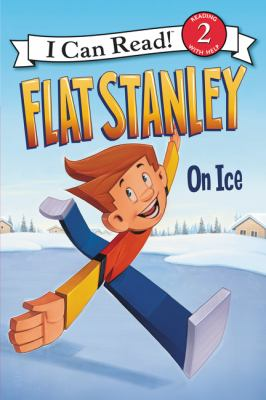Cover image for Flat Stanley on ice