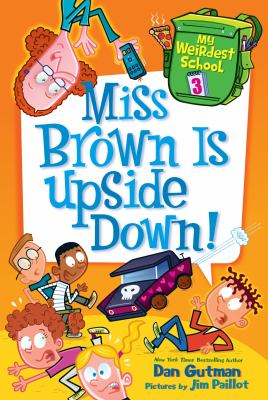 Cover image for Miss Brown is upside down!