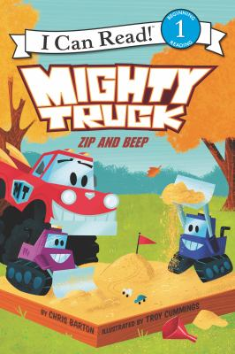 Cover image for Mighty Truck. Zip and beep