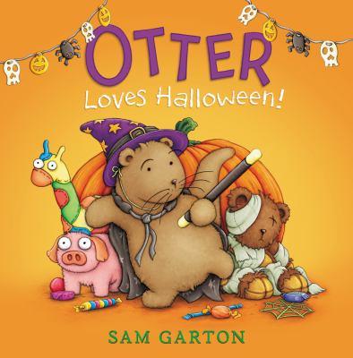 Cover image for Otter loves Halloween!