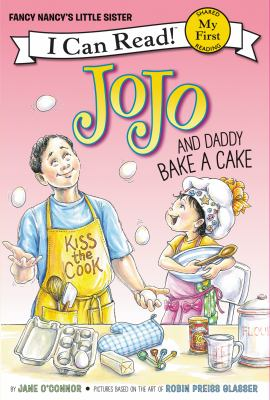 Cover image for JoJo and Daddy bake a cake
