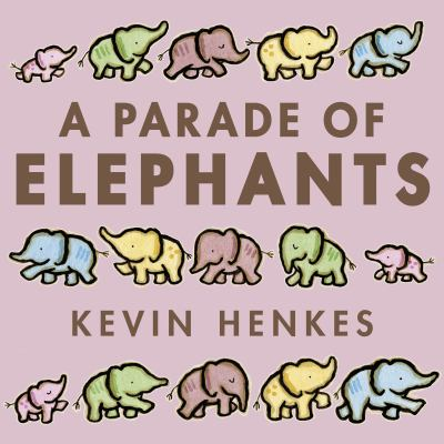 Cover image for A parade of elephants