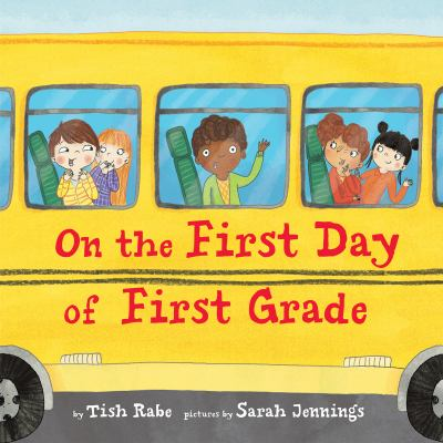 Cover image for On the first day of first grade