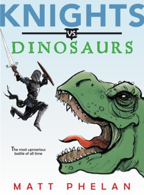 Cover image for Knights vs. dinosaurs