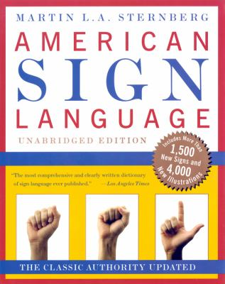 Cover image for American Sign Language