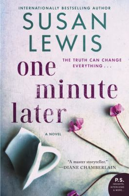 Cover image for One minute later : a novel